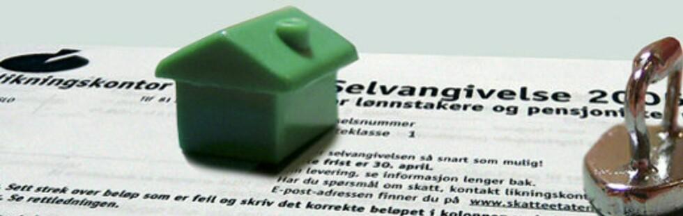 Hvor mye er boligen din verdt - på ære og samvittighet? Foto: Colourbox.com