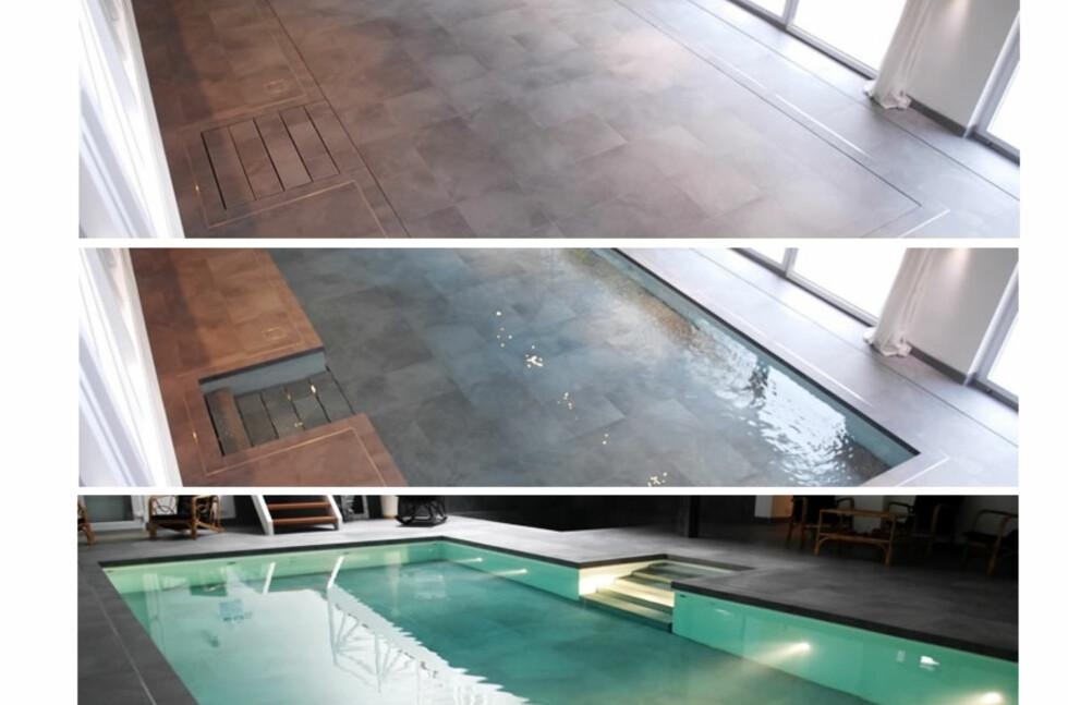 METAMORFOSE: Vanlig gulv i ene øyeblikket, spenstig svømmebasseng i neste. Forvent bare ikke at forvandlingen er gjort på et blunk. Dette tar litt tid.