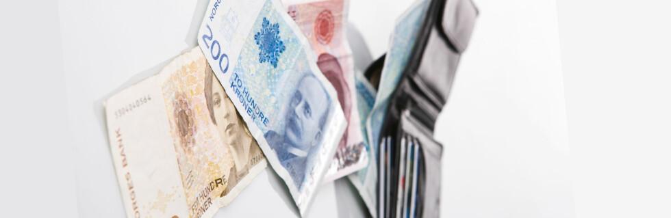 Kanskje noen skylder deg penger? Foto: Colourbox.com