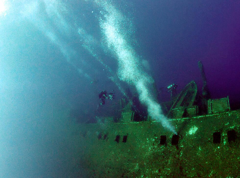 Skipet er 172 meter langt og 28 meter bredt – en kjempe. Foto: Visit Cyprus
