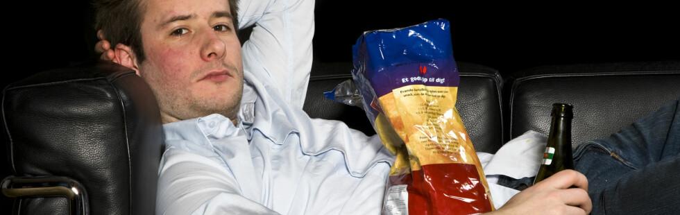 For mange er OL synonymt med to uker i sofaen. Foto: colourbox.com