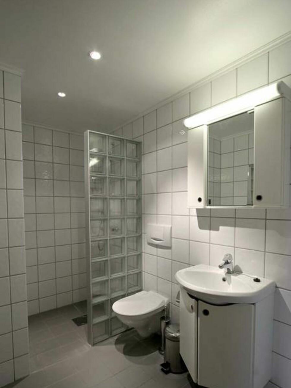 Helt greit bad med badstu. Foto: Skarsnuten Hotell