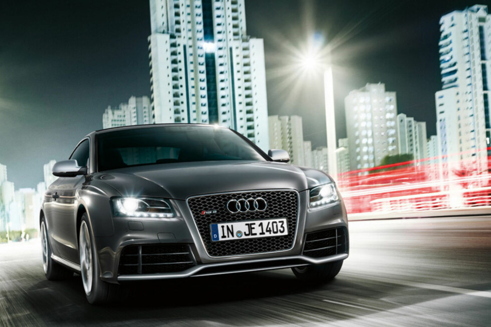 Her er nye Audi RS5!