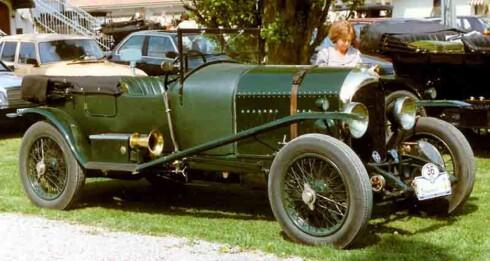 """Bentley 3-litre fra 1925 - første som kom i Supersports-versjon. Her en """"Speed"""", med toppfart 145 km/t Foto:   Lars-Göran Lindgren (Wikimedia Commons)"""