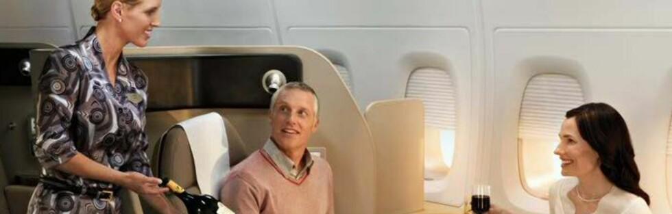 Vekk med luksusen på A380