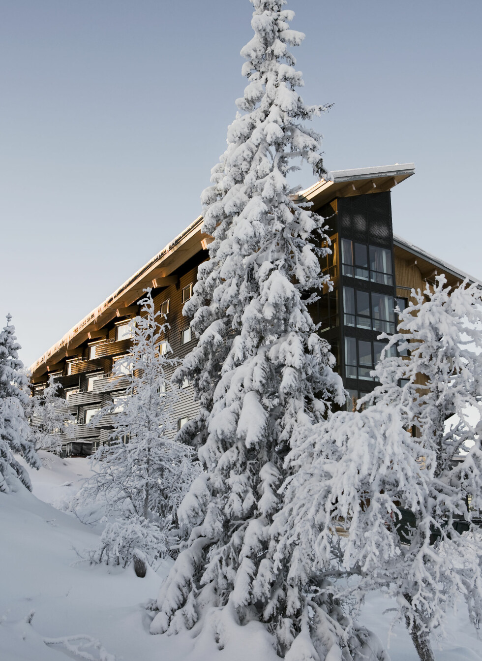 Copperhill Mountain Lodge ligger i Åre. Foto: Copperhill Mountain Lodge