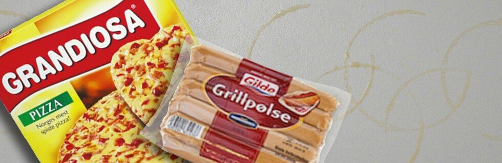 Det er fort gjort å ty til enkle løsninger til middag under OL. Foto: Per Ervland