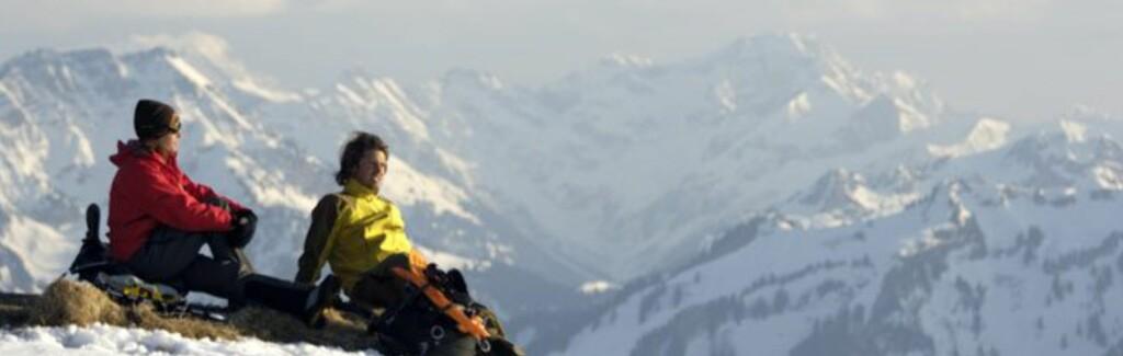 <b>ALPEFERIE:</b> Oberstaufen i Tyskland er det billigste skistedet i Alpene, for to voksne på tur.  Foto: oberstaufen.de