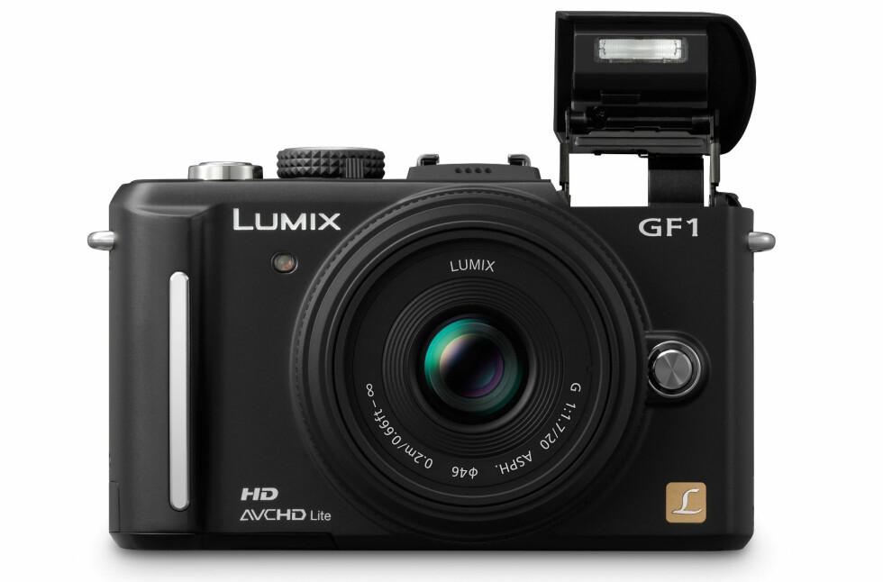 Panasonic Lumix DMC-GF1 er verdens minste kamera med utskiftbar optikk.