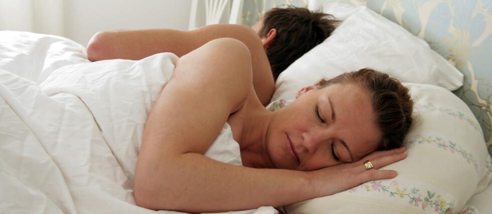 Får du nok søvn? Husk at søvnmangel kan øke risikoen for flere sykdommer, og for overvekt.  Foto: Colourbox