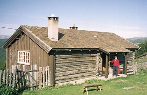 Det koster 4.280 kroner å leie denne hytta på Rondablikk ved Gålå, i vinterferien (en uke). Foto: Novasol