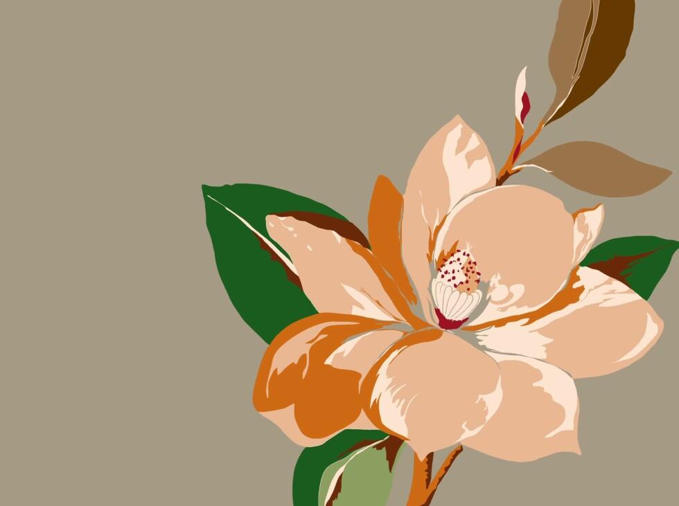 Store blomster fra Vivenne Westwood for den britiske produsenten Cole & Son.  Foto: Produsenten