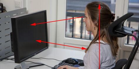 image: Slik sitter du riktig