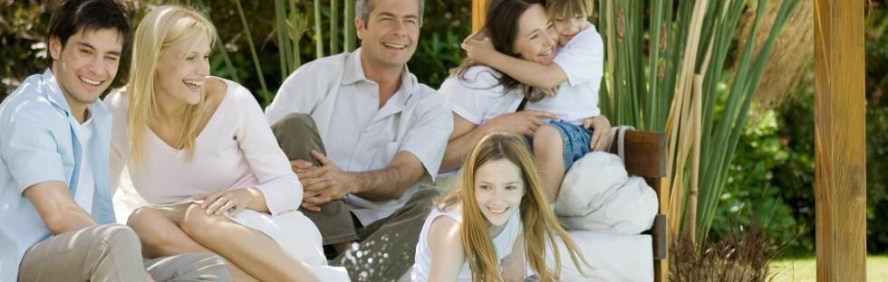Er familien stor, kan det lønne seg å leie i stedet for å bo på hotell. Foto: Colourbox