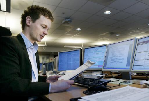 Seniorøkonom Bjørn Roger Wilhelmsen tror Norges Bank følger planen. Foto: First Securities