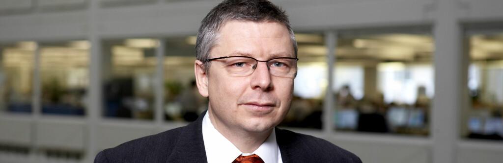 Erik Bruce i Nordea tror ikke på rentehopp i morgen. Foto: Nordea