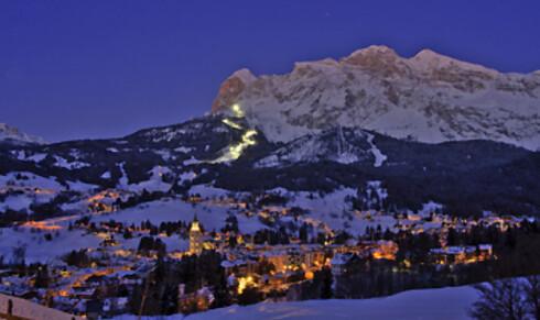 Dronningen av Dolomittene, kalles dette skistedet. Foto: Cortina d'Ampezzo