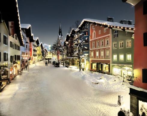Kitzbühel er en sjarmerende by, men prisnivået er ganske høyt. Foto: Markus Mitterer