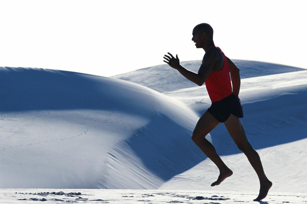 - Det er verdt å undersøke dette videre. Forskerne har tross alt sett nærmere på hvordan man kan løpe på en mer naturlig måte, kommenterer en som ikke var med på studien. Foto: colourbox.com
