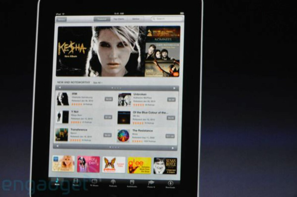 iPad lansert av Apple