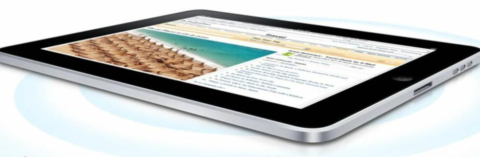 iPad lansert av Apple