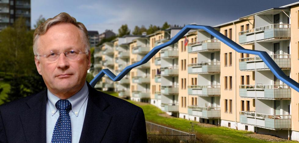 image: - Belåningsgraden er urovekkende høy