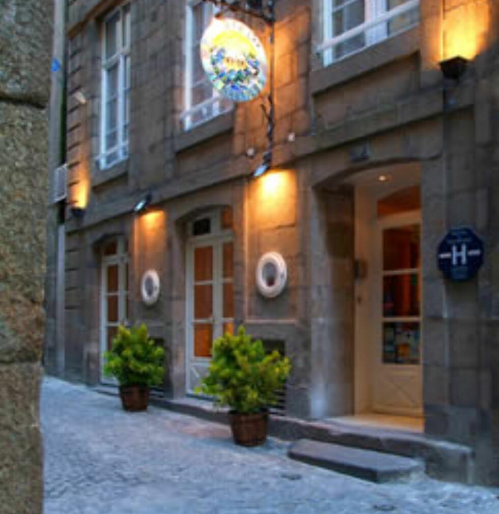 Le Nautilus, Saint-Malo, Frankrike Foto: Hotellet