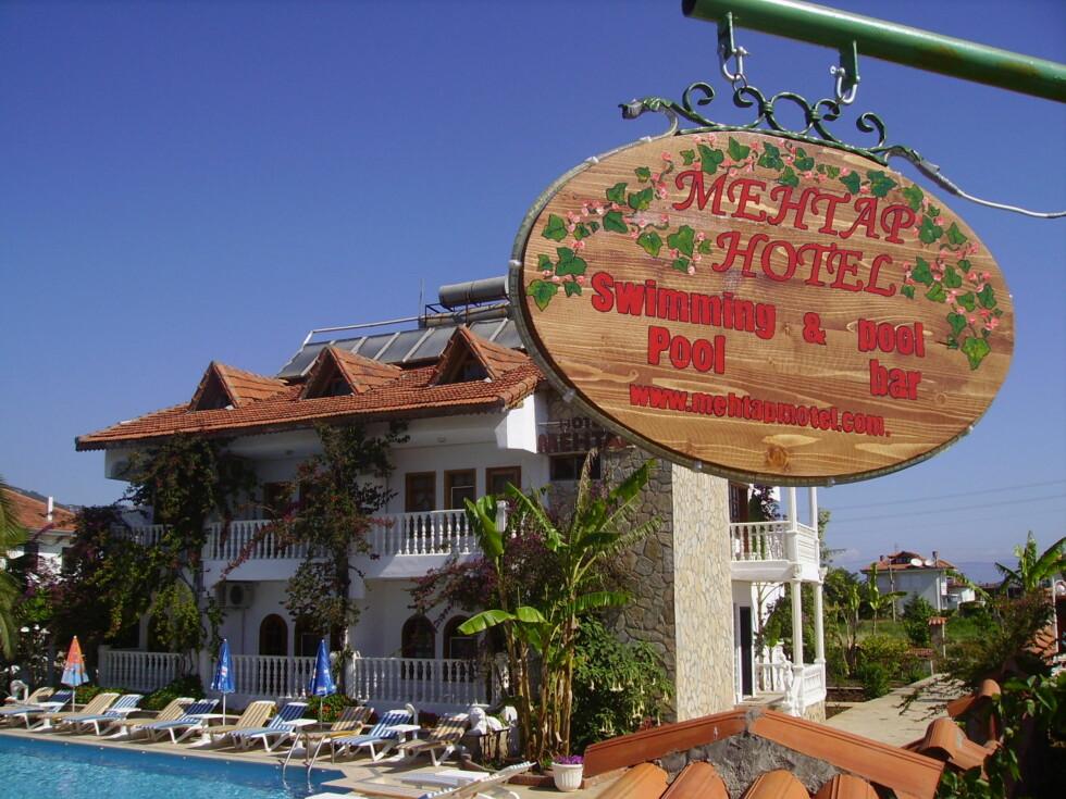 Mehtap Hotel Dylan, Tyrkia Foto: Hotellet