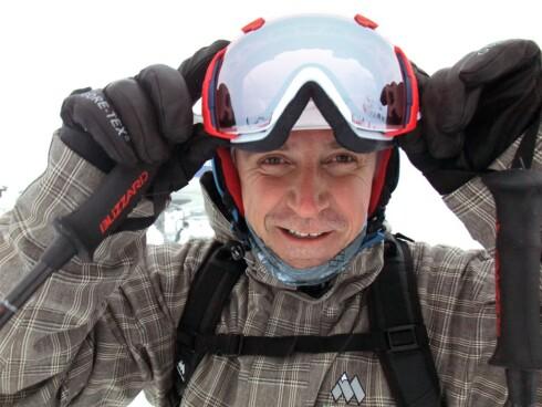 Lars Bull elsker å stå alpint - og tar deg med på turi Skiguiden. Foto: Ole Thomas Halvorsen