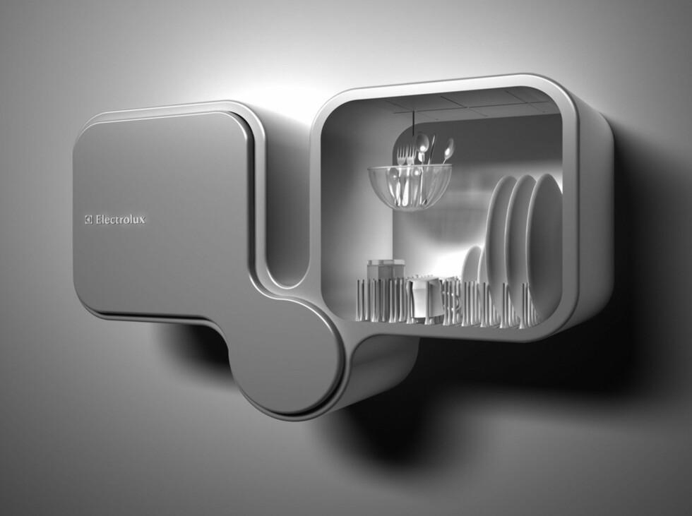 Bifoliate av Toma Brundzaite, Ungarn. Dobbel oppvaskmaskin som skal spare miljøet med sin ultrasoniske vasketeknologi. Les mer om vaskemaskinen i hovedartikkelen.