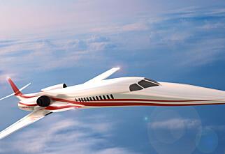 Nytt supersonisk fly på vei