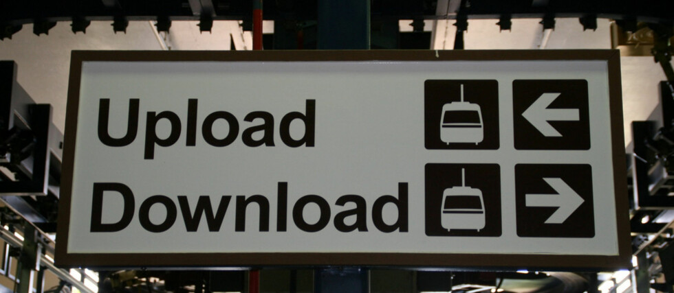 Nå kan du lagre filer hos Google. (Foto: Upload / Download av Flickr-bruker Trainor / CC BY 2.0)