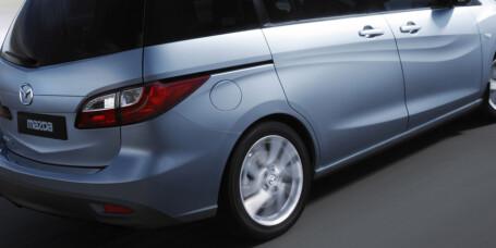 Mazda med ny familiefrakter