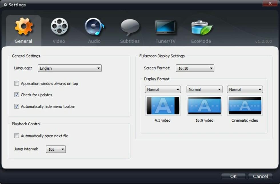 Super avspiller for HD-video