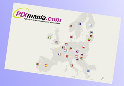 Pixmania er ifølge selskapet selv en av Europas største nettbutikker.Pixmana oppgir å ha 7,0 millioner registrerte kunder, hvorav 200.000 i Norge. I fjor skal selskapet ha sendt ut 5,0 millioner produkter, hvorav 120.000 til Norge. Foto: Pixmania