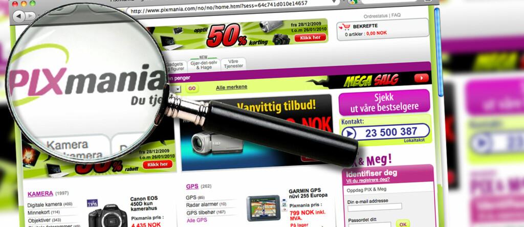 Den franske nettbutikken Pixmania, som blant annet henvender seg til norske kunder, tilbyr meget konkurransedyktige priser. Samtidig har DinSide kommet over mange negative påstander knyttet til selskapet. Vi bestemte oss derfor for å ta en nærmere kikk på Pixmania. Foto: Per Ervland