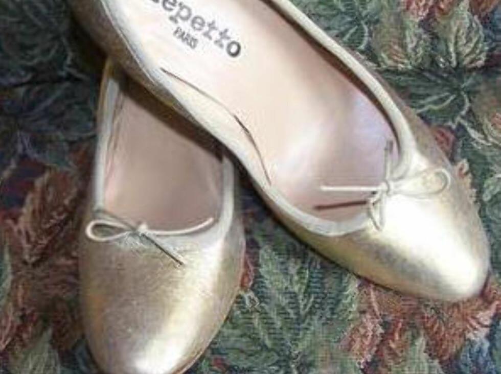 <strong>Repetto ballerinapumps, kr 500 Foto:</strong> Finn.no