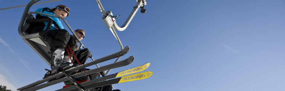 Nordmenn elsker alpinsport, selv om det kan bli dyrt. Foto: Colourbox