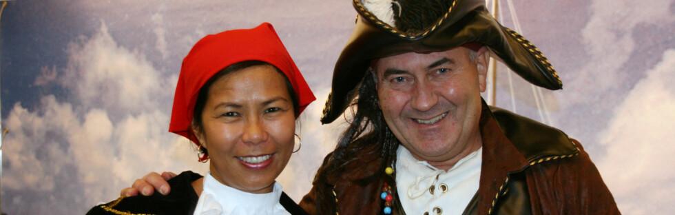 Leli og Morten Wichstrøm i Caribbean Sailing Club er noen av de du kan treffe på årets reiselivsmesse. Foto: Kristin Sørdal