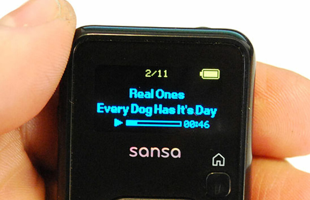 image: Sandisk Sansa Clip+