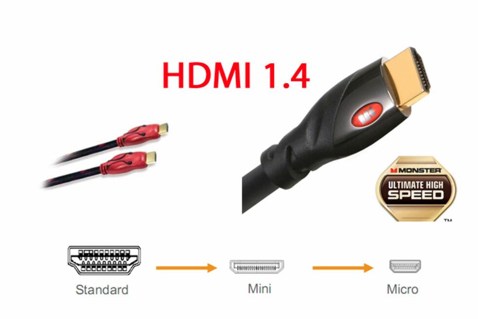 Nå kommer HDMI 1.4