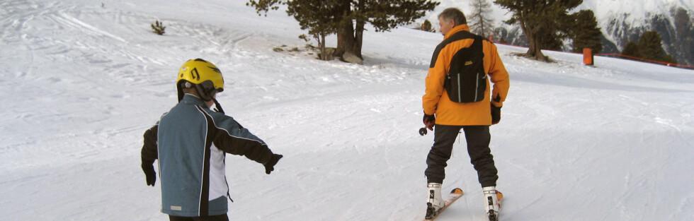 Danske på ski er et kjent begrep i norske bakker. Foto: Colourbox