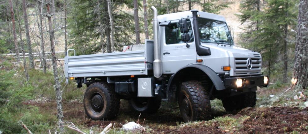 Unimog U5000: Turbil for folk med veiskrekk