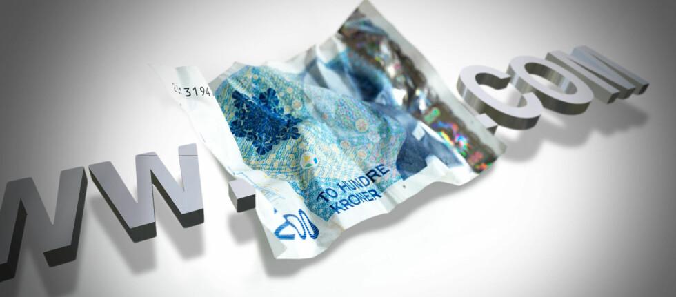 OMDISKUTERT: Mange norske forbrukere raser over at de må betale moms for de fleste varer bestilt fra utlandet, som koster mer enn 200 kroner.  Foto: Colourbox/Per Ervland