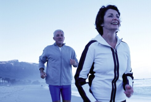Løping styrker knærne - det svekker dem ikke. Foto: colourbox.com