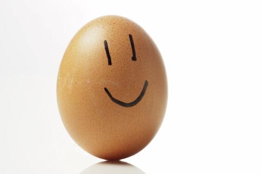 Nå kan eggene smile igjen. Foto: colourbox.com