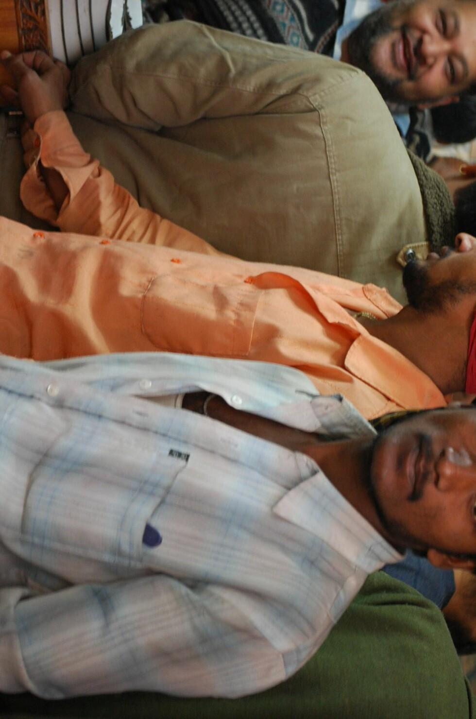 Livet er ingen dans på roser for New Delhis rundt 12 millioner innbyggere - i hvert fall hvis du tilhører de fattige, som utgjør majoriteten av byens innbyggere. Foto: Thomas Helseth Aastad