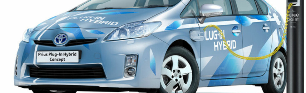 Toyota i gang med plugin-hybrid