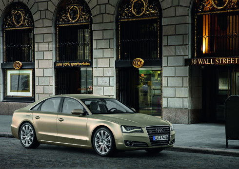 Nye Audi A8 vitner tydelig om at miljø har blitt et viktig tema også i luksusklassen