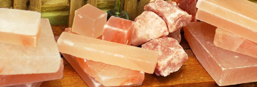 Disse lekre rosa steinene kan du bruke til å lage mat på. Foto: The Meadow